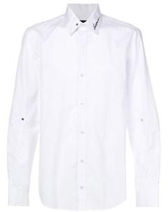 Icosae рубашка с вышивкой m белый Icosae