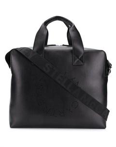 stella mccartney портфель с логотипом на ремне один размер черный Stella mccartney