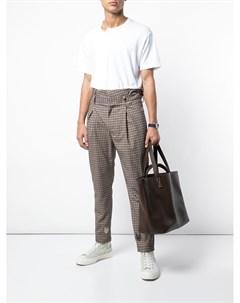Hender scheme большая сумка тоут один размер коричневый Hender scheme
