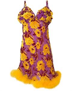 Daizy shely платье с цветочным узором 42 розовый Daizy shely