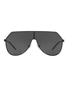 Футуристичные солнцезащитные очки авиаторы Dolce & gabbana eyewear