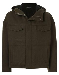 Christian dada куртка с капюшоном 44 зеленый Christian dada