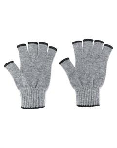 Кашемировые перчатки митенки Pringle of scotland