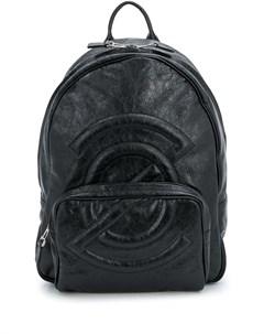 Zanellato рюкзак с мятым эффектом один размер черный Zanellato