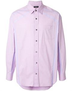 Christian dada рубашка taped 48 фиолетовый Christian dada