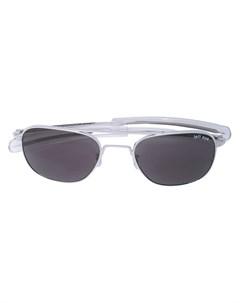 Солнцезащитные очки в оправе авиатор Takahiromiyashita the soloist