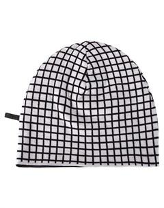Haider ackermann шапка бини в клетку один размер черный Haider ackermann