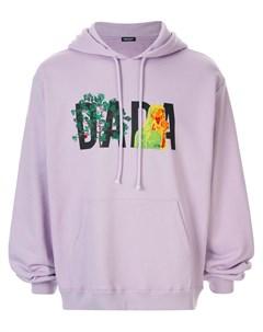 Худи с логотипом Dada и вышивкой Christian dada