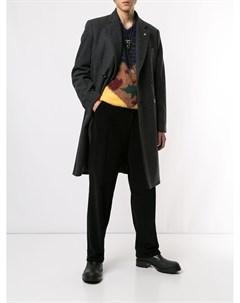 Toga virilis двубортное пальто 46 серый Toga virilis
