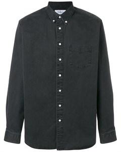 Schnaydermans рубашка с застежкой на пуговицах m черный Schnaydermans