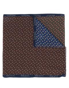 шарф с принтом пейсли Hackett