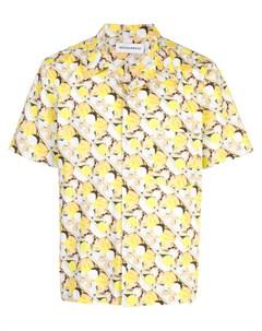 Rochambeau рубашка с карманом и короткими рукавами xl желтый Rochambeau
