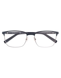 Salvatore ferragamo eyewear очки в комбинированной оправе 54 синий Salvatore ferragamo eyewear