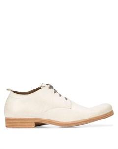Туфли дерби на шнуровке Taichi murakami
