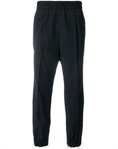 Kris van assche спортивные брюки с эластичным поясом 50 черный Kris van assche