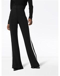 Rockins брюки широкого кроя с лампасами xs черный Rockins