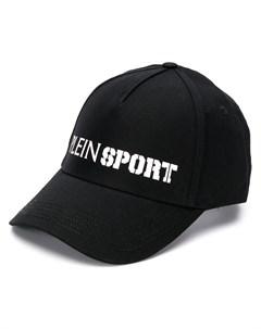 Plein sport бейсболка с контрастным логотипом один размер черный Plein sport