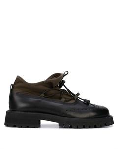 Туфли с эластичными шнурками Hender scheme