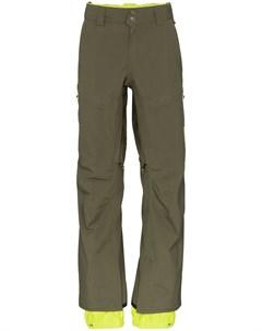 Burton ak брюки прямого кроя gore tex xl зеленый Burton ak