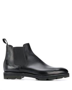 John lobb ботинки lawry 10 черный John lobb
