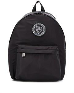 Plein sport рюкзак с нашивкой логотипом один размер черный Plein sport