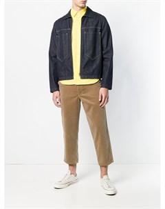 Comme des garcons shirt boys укороченные вельветовые брюки m нейтральные цвета Comme des garçons shirt boys