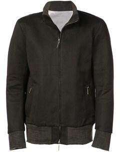 Taichi murakami куртка с воротником стойкой и застежкой на молнию 48 черный Taichi murakami