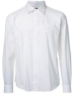 Taakk рубашка с заклепками на воротнике 3 белый Taakk