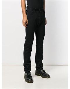 A diciannoveventitre джинсы прямого кроя 46 черный A diciannoveventitre