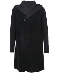 Taichi murakami пальто с капюшоном 50 черный Taichi murakami
