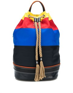 jw anderson рюкзак в полоску один размер разноцветный Jw anderson
