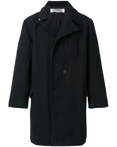 Individual sentiments двубортное пальто в стиле оверсайз 3 черный Individual sentiments