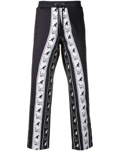 Mjb marc jacques burton спортивные брюки с логотипом на лампасах l черный Mjb marc jacques burton