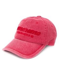juun j кепка с вышивкой synthetic один размер красный Juun.j
