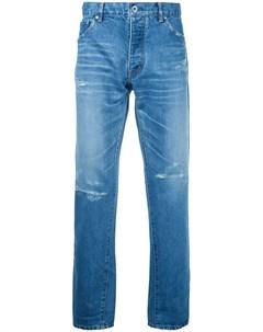 Taakk укороченные зауженные джинсы 2 синий Taakk