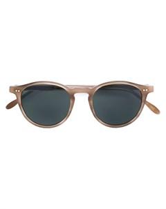 Круглые очки с затемненными линзами Pantos paris