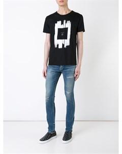 Hl heddie lovu джинсы кроя слим с потертой отделкой 28 синий Hl heddie lovu