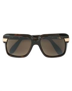 Солнцезащитные очки в крупной квадратной оправе Cazal