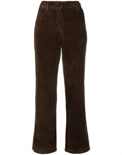 Neul вельветовые брюки со средней посадкой m коричневый Neul