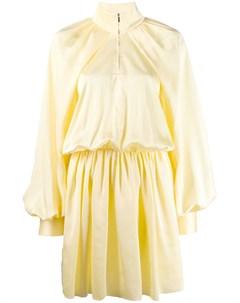 Jourden платье мини windbreaker 40 желтый Jourden