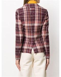 Пальто в клетку T jacket