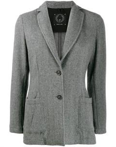 Блейзер на одной пуговице T jacket