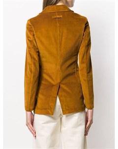 Вельветовый блейзер T jacket