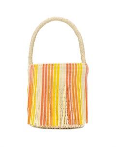 Маленькая сумка тоут с бусинами Sensi studio
