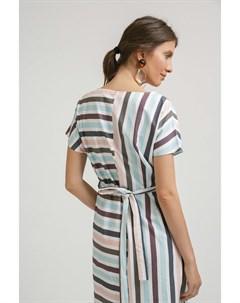 Платье в полоску Emka