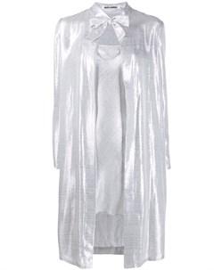 Легкое пальто с эффектом металлик Jourden