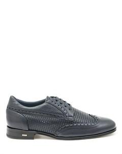 Туфли броги кожаные Pertini
