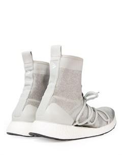 Текстильные кроссовки Stella mccartney