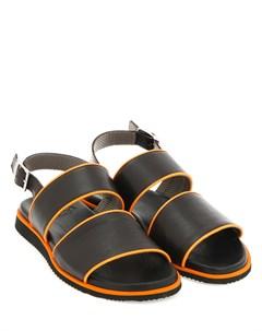 Кожаные сандалии Aldo brue