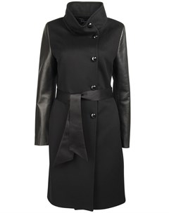 Комбинированное пальто Heresis